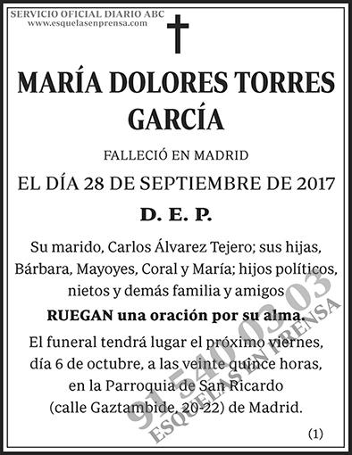 María Dolores Torres García